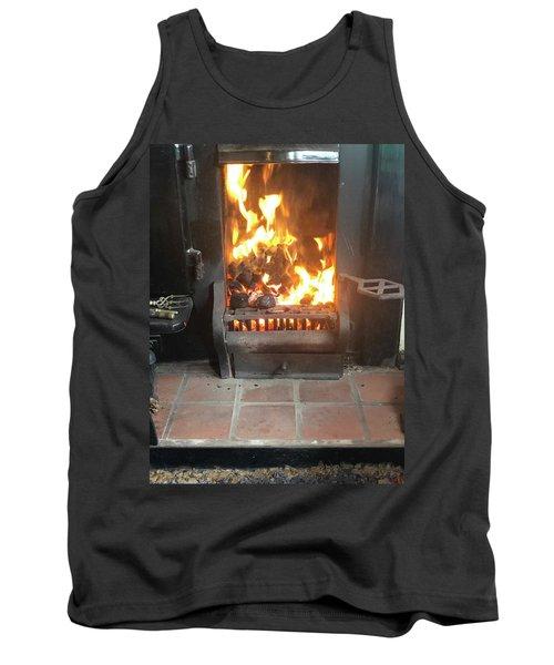Cosy Winter Fire Tank Top