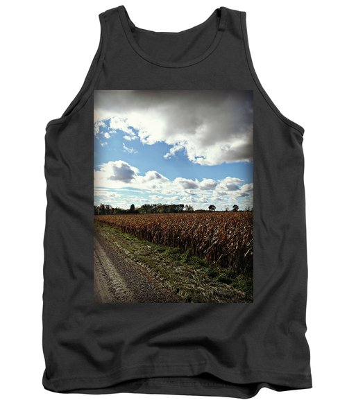 Country Autumn Curves 2 Tank Top