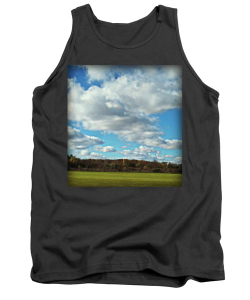 Country Autumn Curves 7 Tank Top