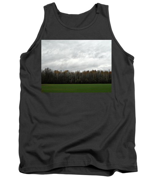 Country Autumn Drive Tank Top