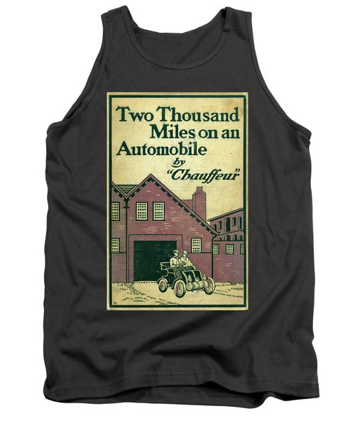 Cover Design For Two Thousand Miles On An Automobile Tank Top