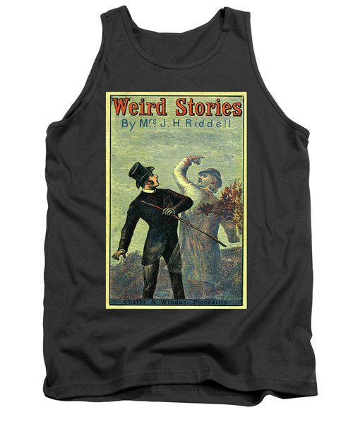 Victorian Yellowback Cover For Weird Stories Tank Top