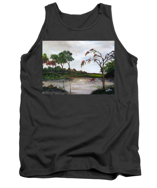 Cow Haven Tank Top