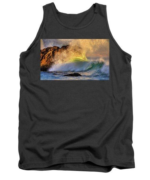 Crashing Wave Leo Carrillo Beach Tank Top