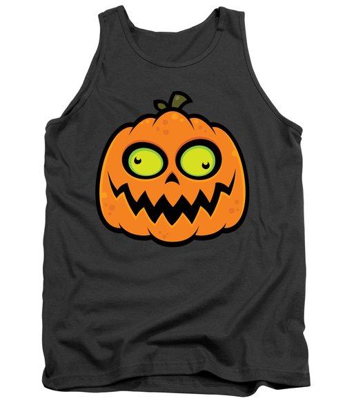 Crazy Pumpkin Tank Top