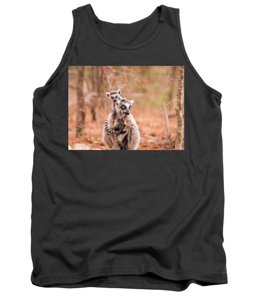 Tank Top featuring the photograph Curiosity by Alex Lapidus