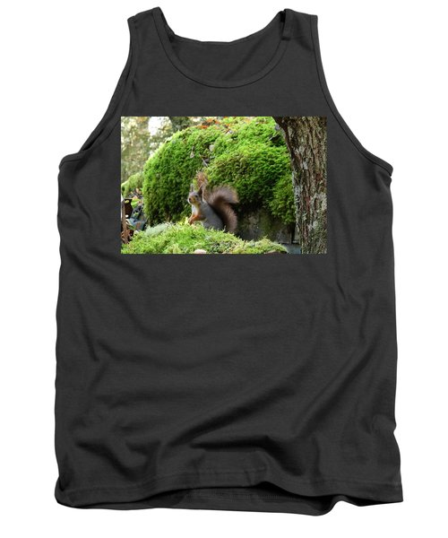 Curious Squirrel Tank Top