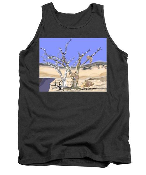 Dali Desert Landscape Tank Top