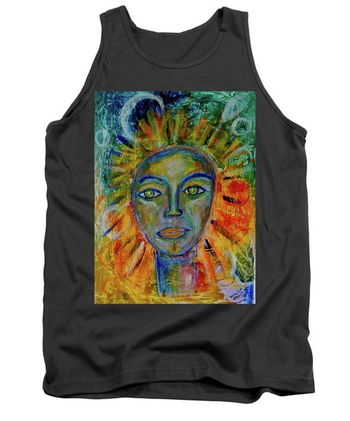 Daughter Of The Sun And Moon Tank Top