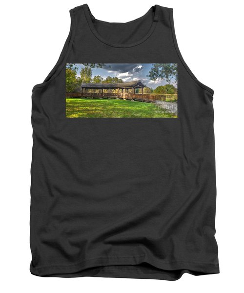 Deck At Pickerington Ponds Tank Top