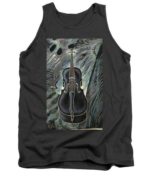 Deep Cello Tank Top