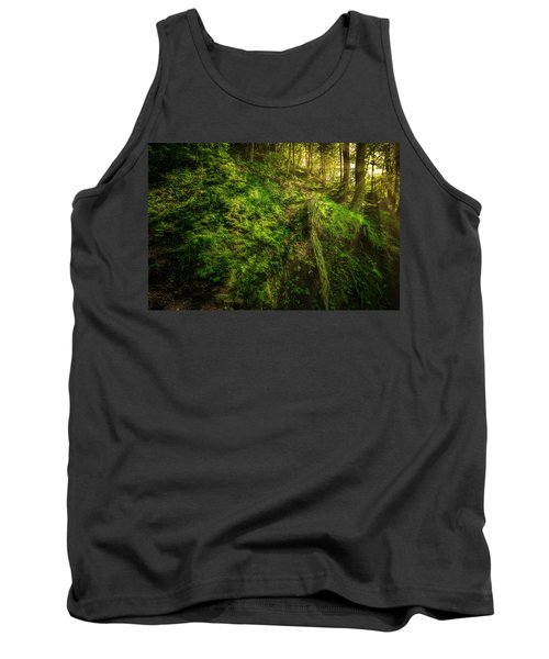 Tank Top featuring the photograph Deep In The Forests Of Bavaria by David Morefield