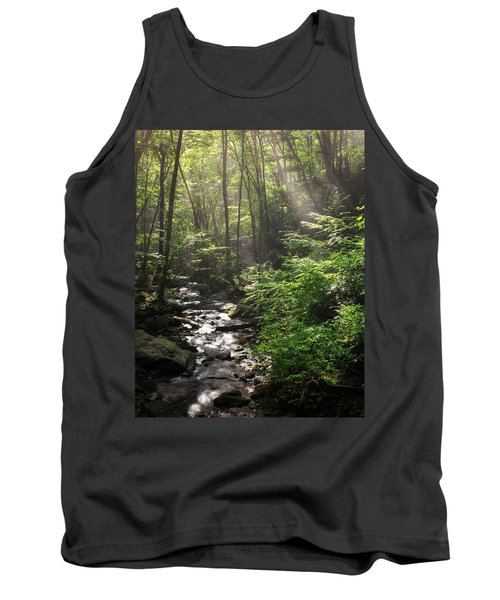 Deep In The Forrest - Sun Rays Tank Top