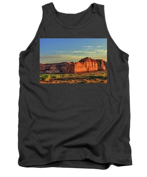 Desert Sunrise In Color Tank Top