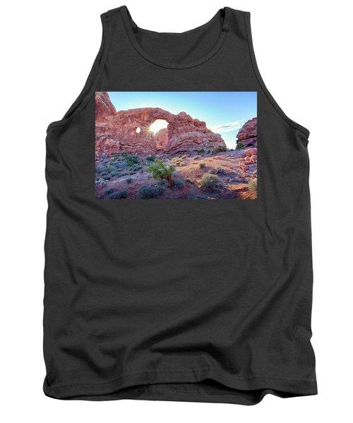 Desert Sunset Arches National Park Tank Top