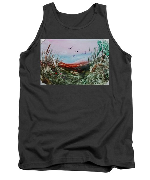 Disappearing Pathway Tank Top