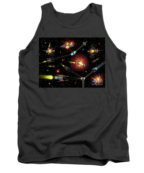 Dog Fights Tank Top