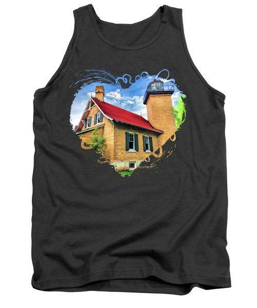 Door County Eagle Bluff Lighthouse Tank Top
