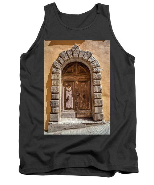 Door Thirty Two Of Tuscany Tank Top