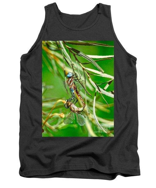 Dragonflies Mating Tank Top
