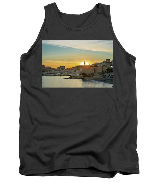 Dubrovnik Old Town At Sunset Tank Top
