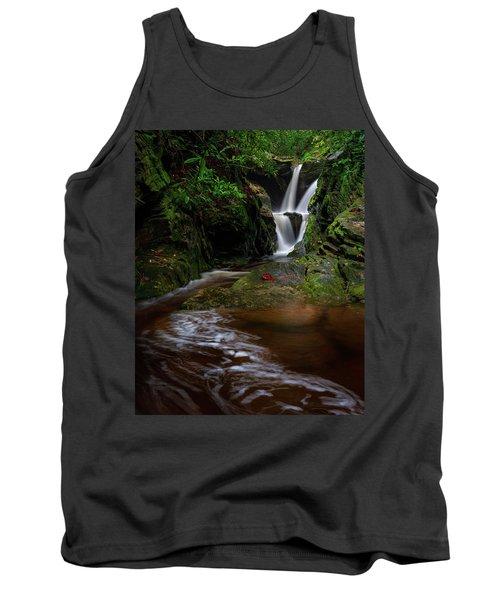 Duggers Creek Falls - Blue Ridge Parkway - North Carolina Tank Top