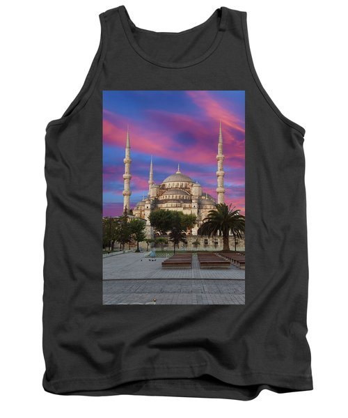 Early Morning Light On  Sultan Ahmet Camii Tank Top