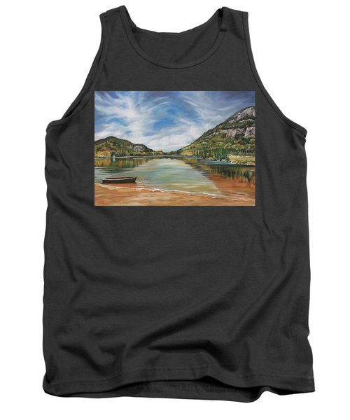 Echo Lake In Franconia Notch New Hampshire Tank Top