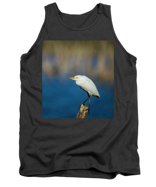 Egret On A Stick Tank Top