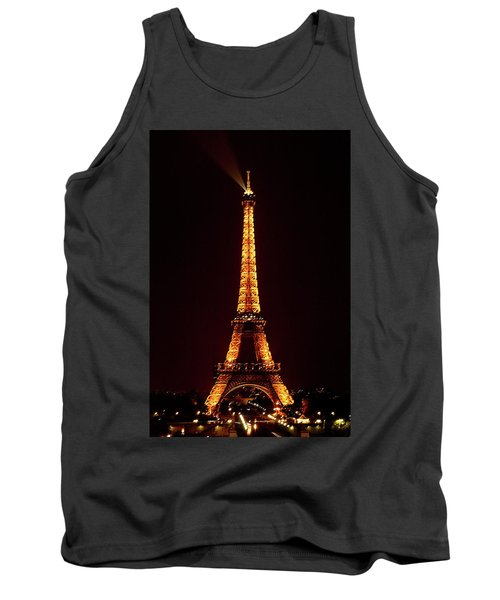 Eiffel Tower, Night Tank Top
