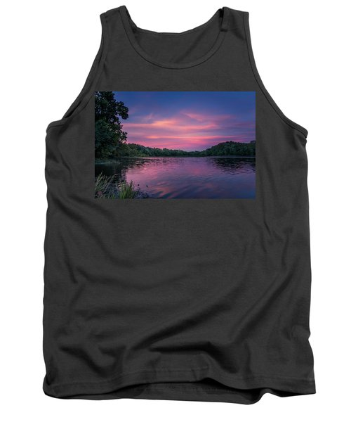 Evening At Springfield Lake Tank Top