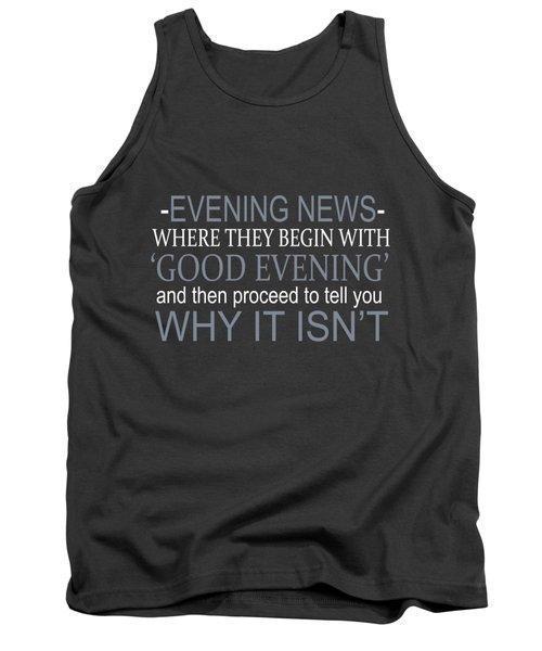 Evening News Tank Top