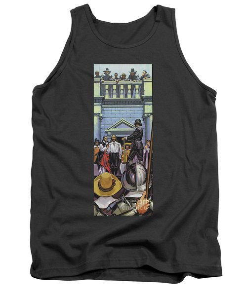 Execution Of King Charles I Tank Top