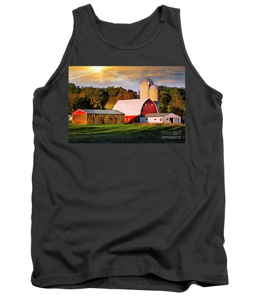 Tank Top featuring the photograph Family Farm by Scott Kemper