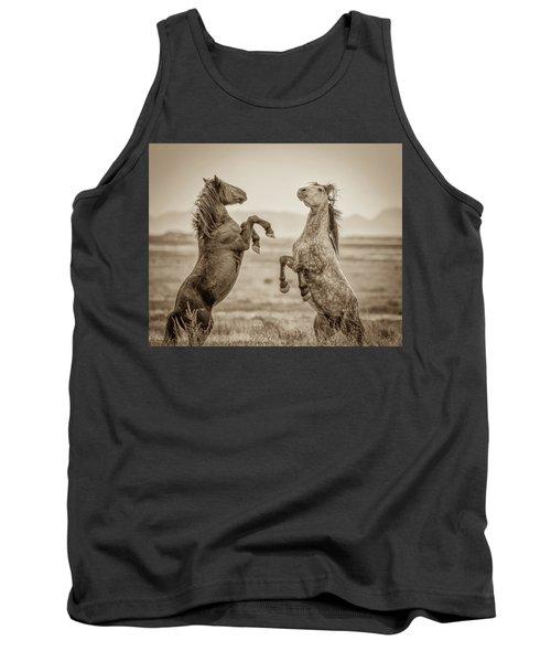 Fighting Stallions 2 Tank Top