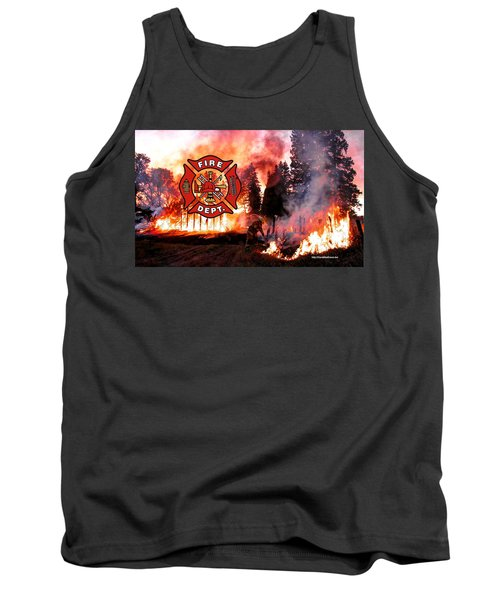 Fire Fighting 3 Tank Top