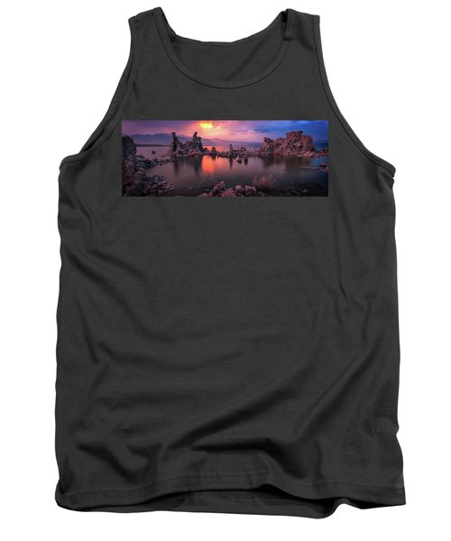 Tank Top featuring the photograph Fireball by Edgars Erglis