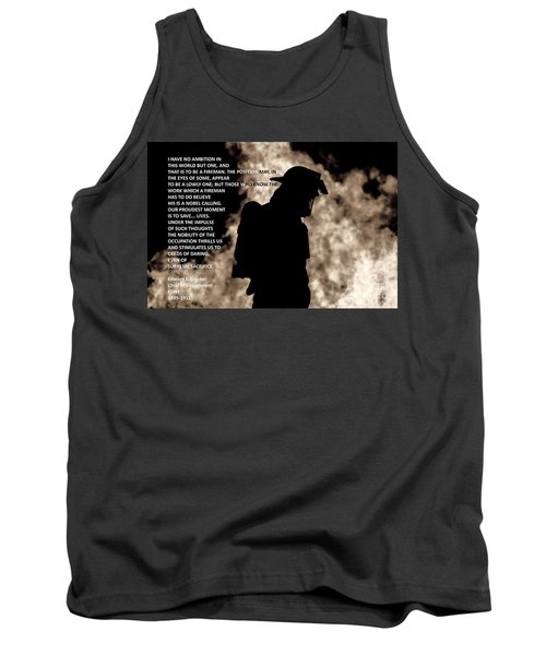 Firefighter Poem Tank Top