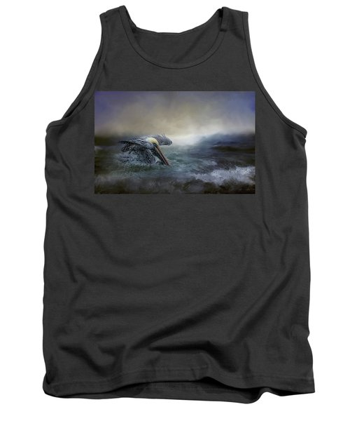 Fishing In The Storm Tank Top