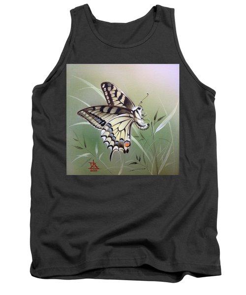 Fleeting Beauty.  Swallowtail Tank Top