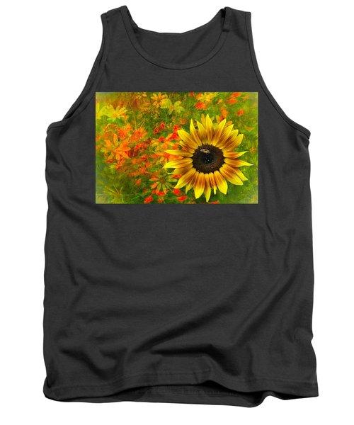 Flower Explosion Tank Top