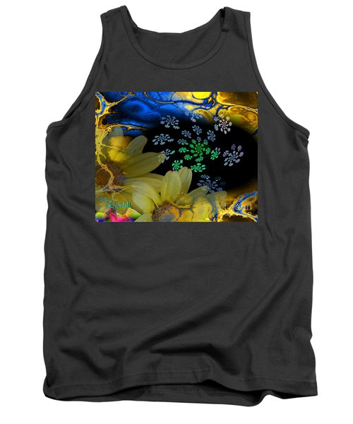 Flower Power In The Modern Age Tank Top