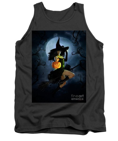 Fly By Night Halloween Tank Top