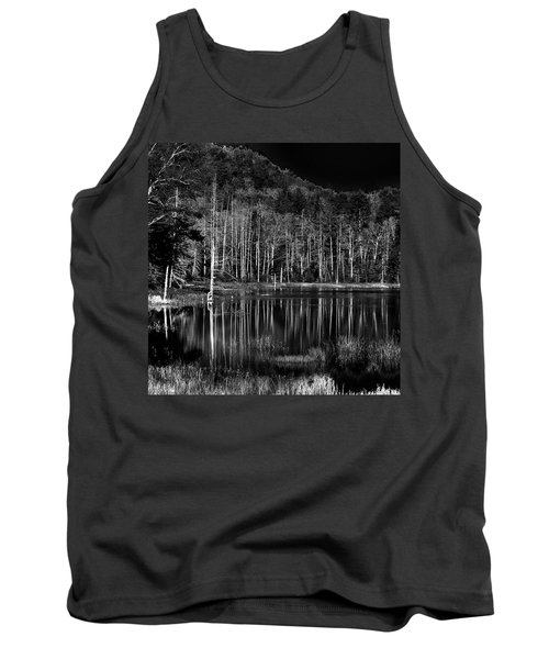 Tank Top featuring the photograph Fly Pond Reflection by David Patterson