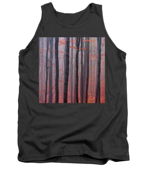 Forest Barcode Tank Top