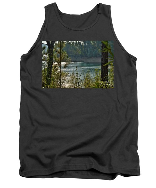 Forest Lake In Amendoa Tank Top