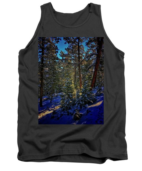 Tank Top featuring the photograph Forest Shadows by Dan Miller