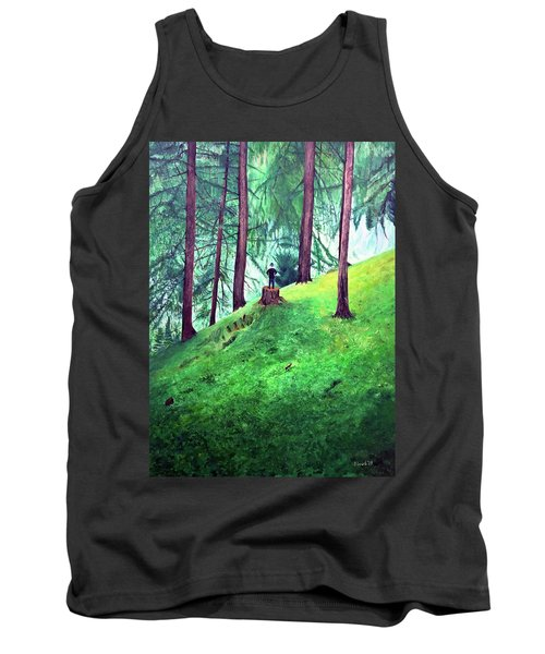 Forest Through The Trees Tank Top