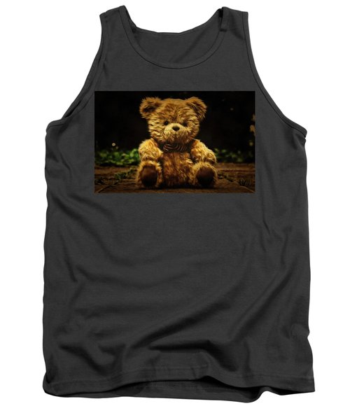 Tank Top featuring the painting Forgotten Friends by Harry Warrick
