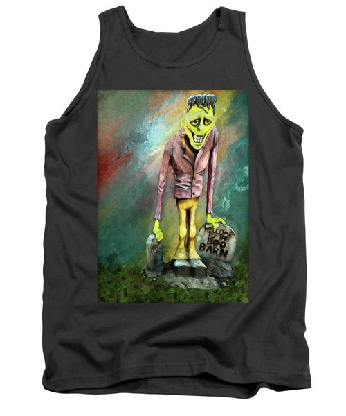 Frankie At The Boo Barn Tank Top